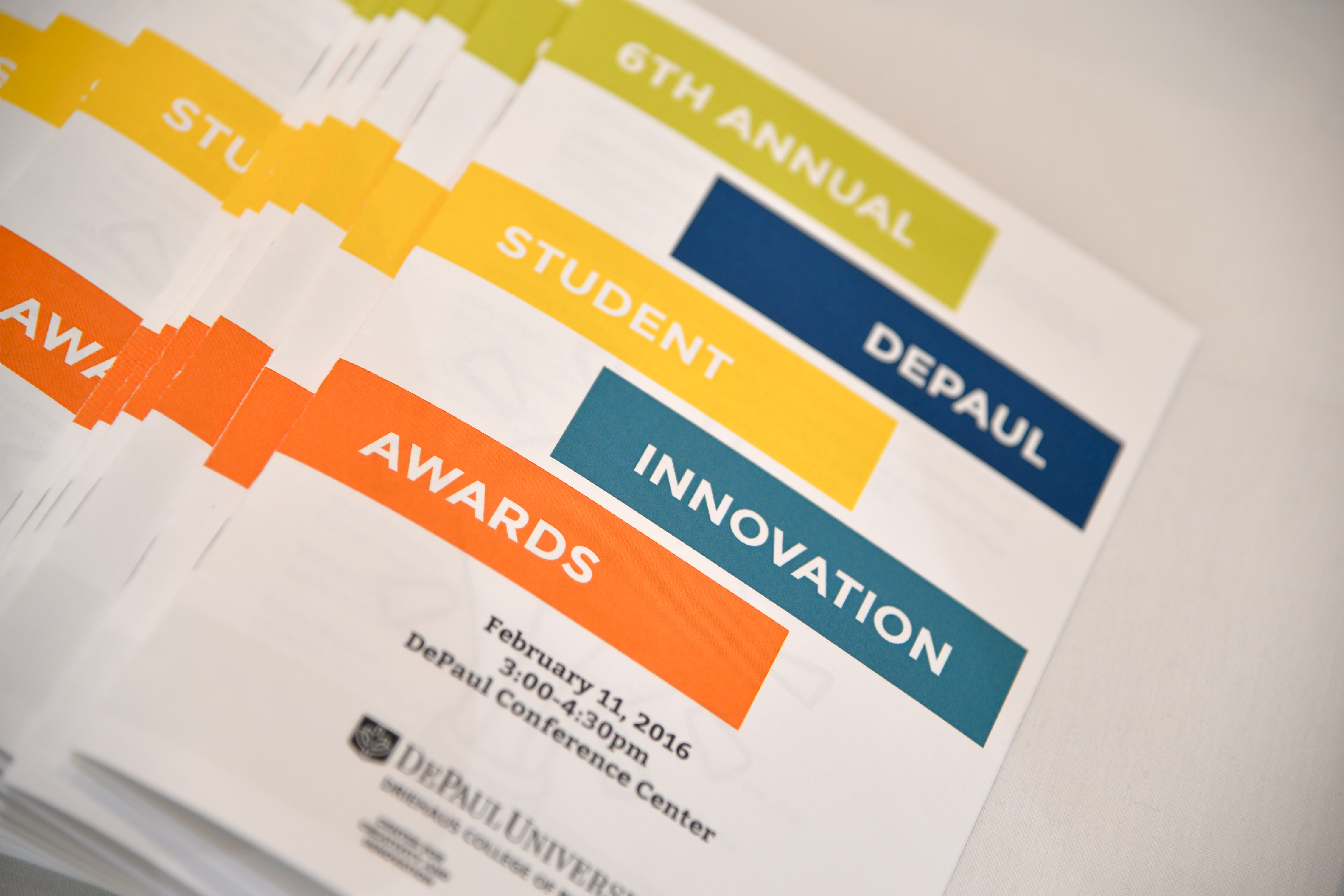 Student Innovation Awards pamphlet