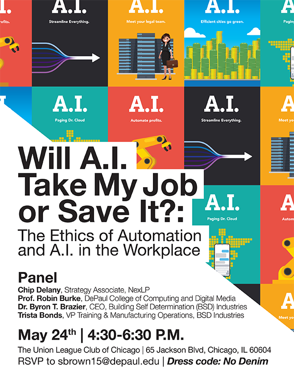 AI and Jobs Event Poster