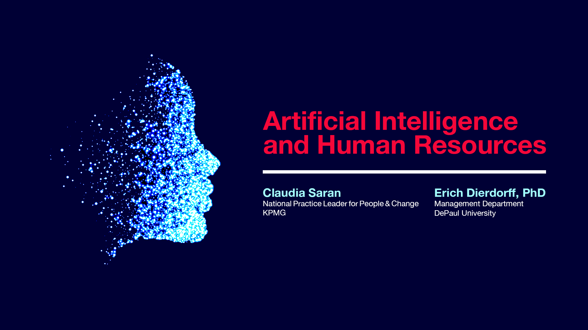 AI and Human Resources Banner
