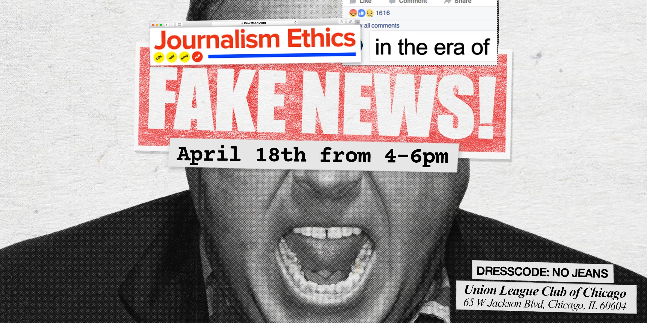 Fake News Event Banner
