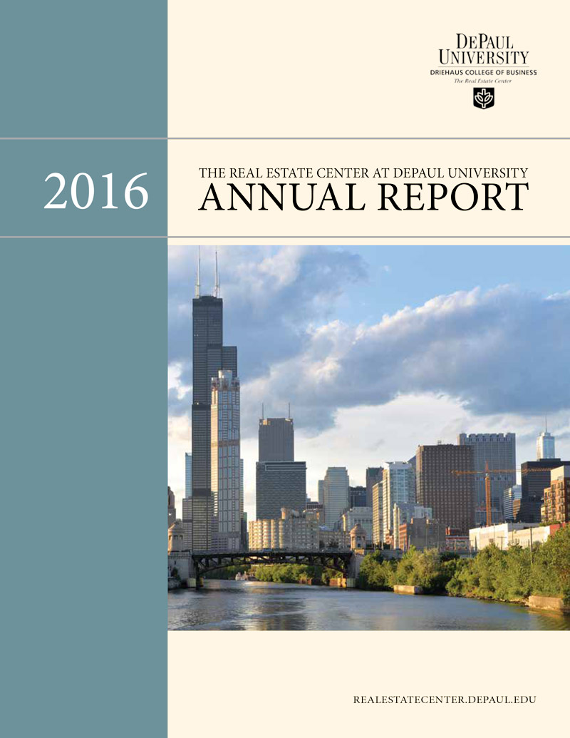 Annual Report 2016 Cover
