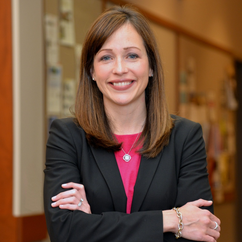 Associate Professor of Management Jaclyn Jensen