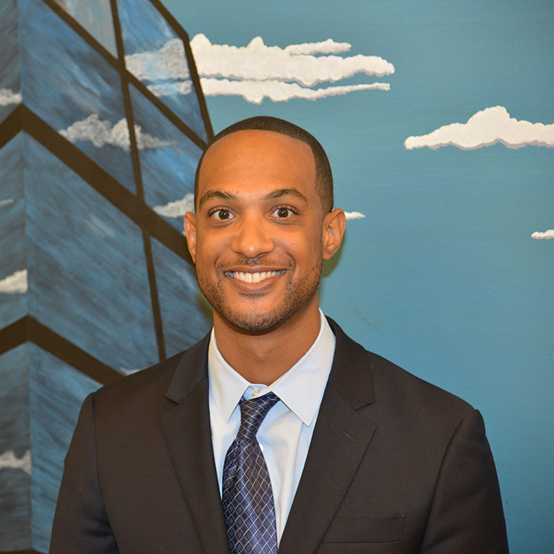 Rhyan Curtis, 2017 MBA candidate who attended DePaul's Analytics Career Night.