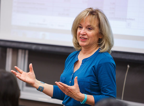 Cindy Durtschi is DePaul's Master in Audit and Advisory Services Program Director.