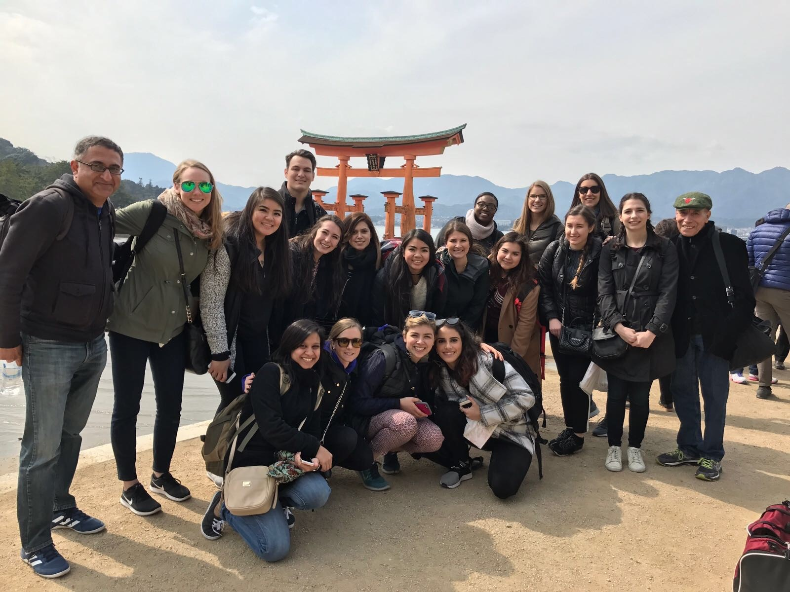 Students visit Hiroshima in Japan