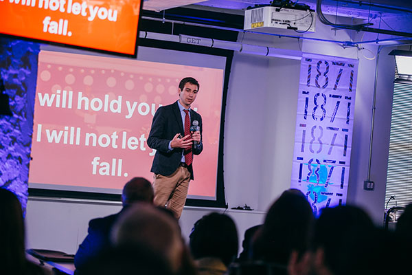 Students participate in 1871 Purpose Pitch competition