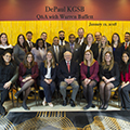 DePaul MBA Program Students Meet Warren Buffett