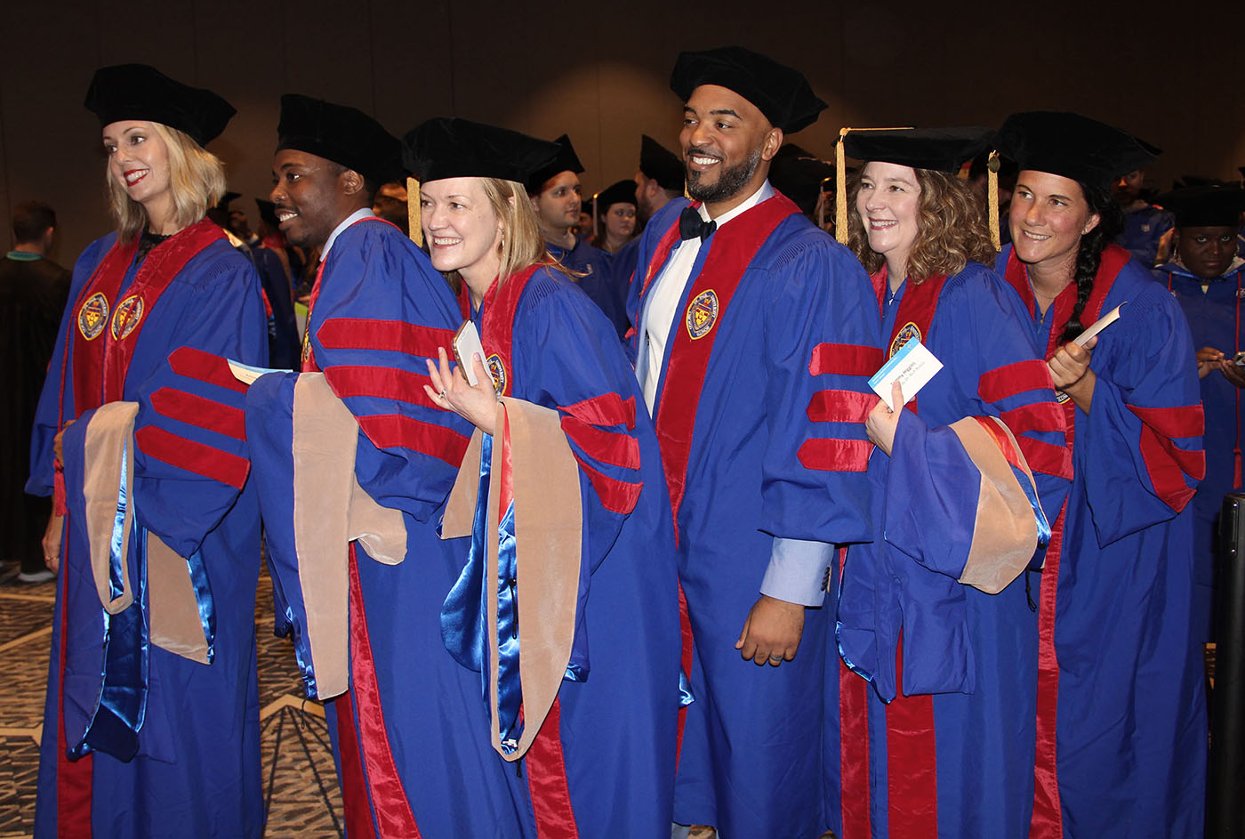 The first graduating class earning a Doctorate of Business Administration from DePaul University