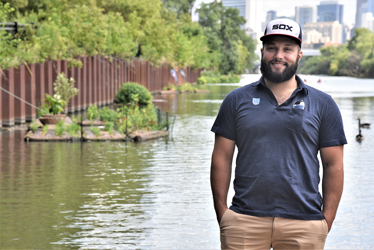George Brigandi (MBA '18), director of marketing for Urban Rivers