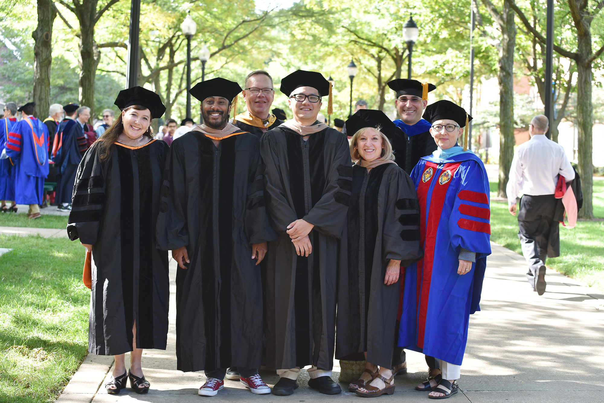 Driehaus College of Business Faculty and Staff Members at DePaul Academic Convocation