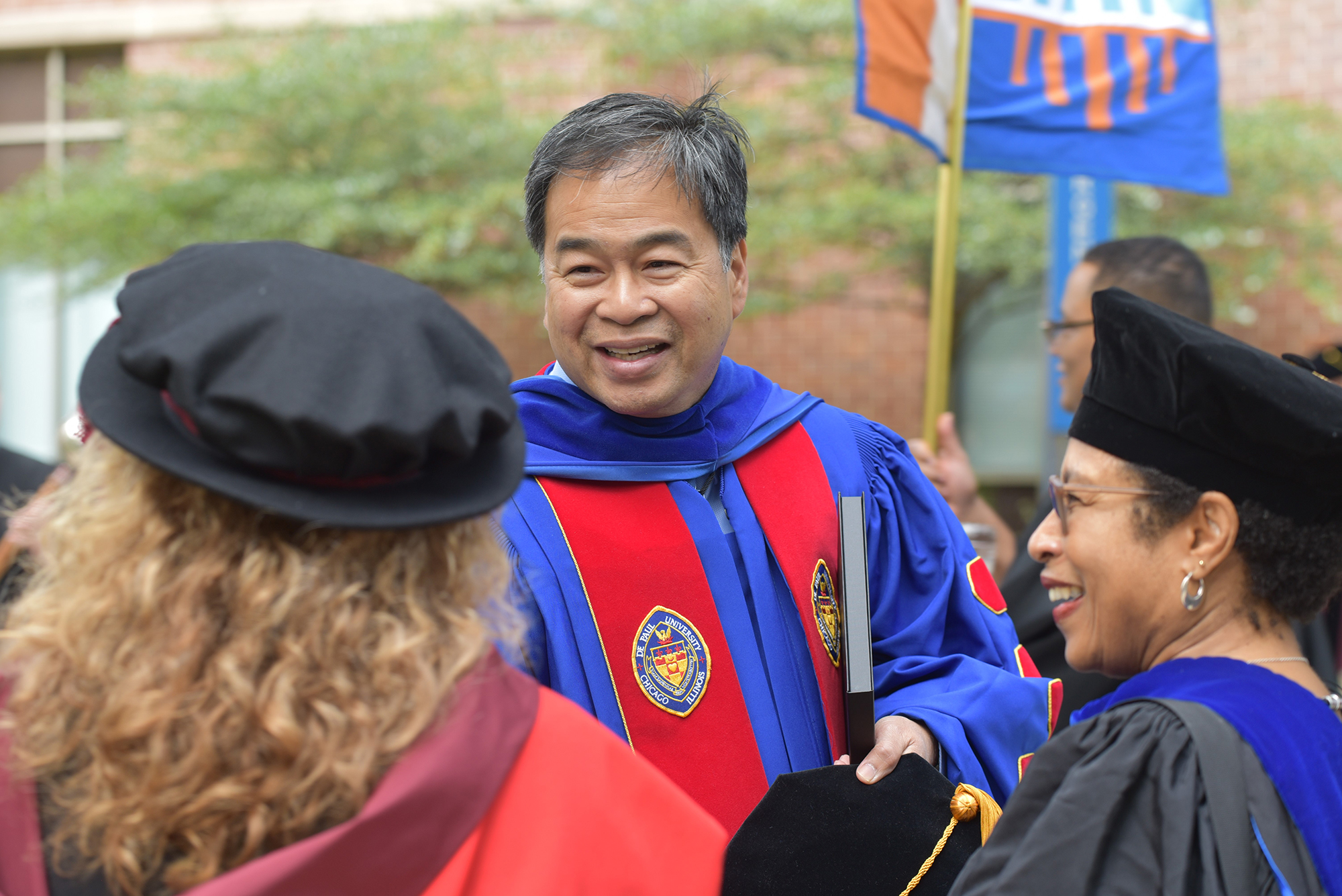 President A. Gabriel Esteban, PhD, at DePaul Academic Convocation