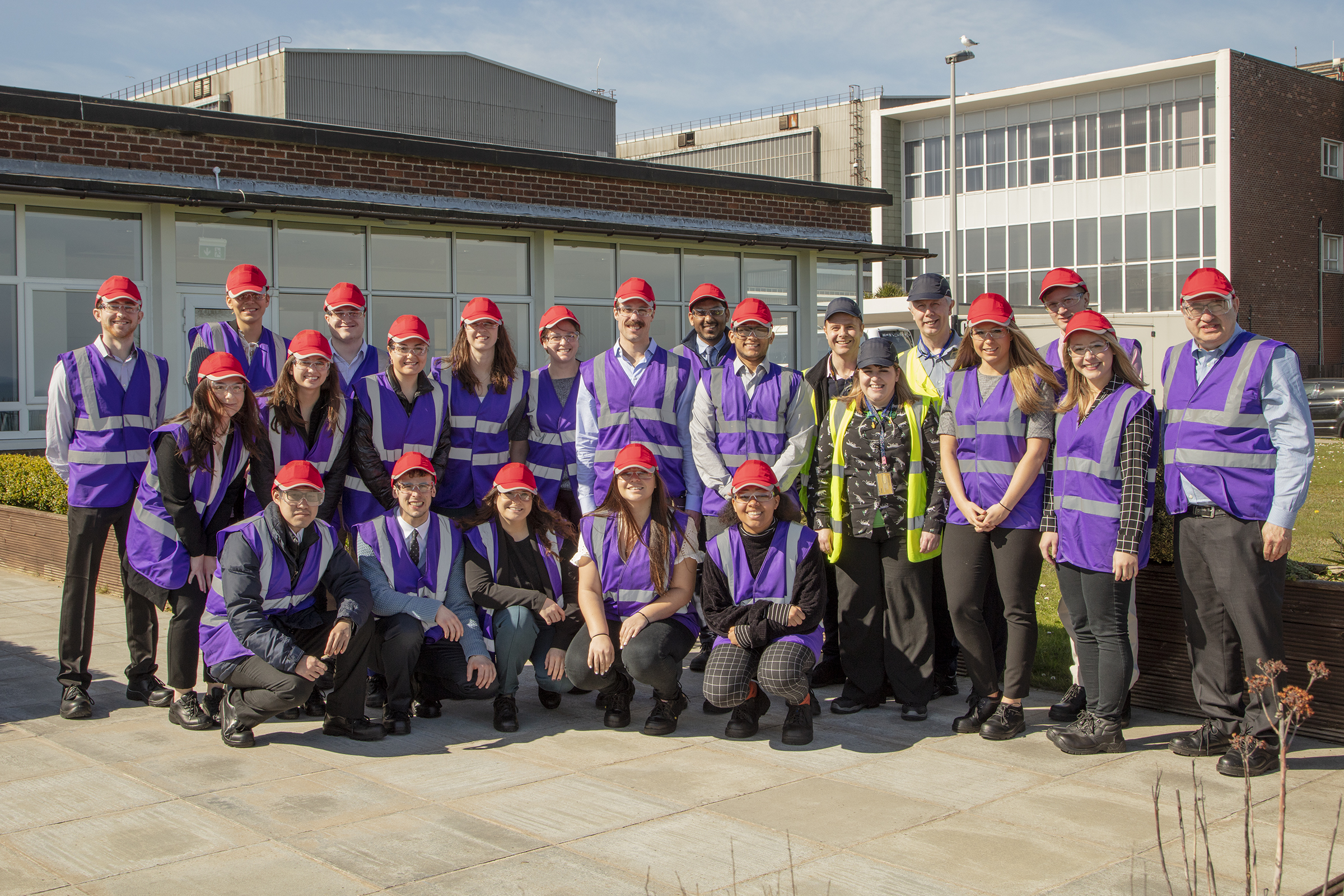 DePaul students studied Brexit up close during a spring break seminar in Northern Ireland, where they visited a Caterpillar plant and other businesses.