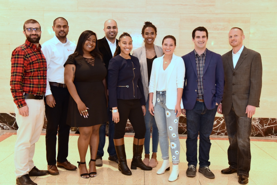 A mix of DePaul alumni and students competed in the Coleman Entrepreneurship Center's annual Purpose Pitch Competition on May 14 at 1871, Chicago's tech business incubator. Founders of six companies split $25,000 in award money.
