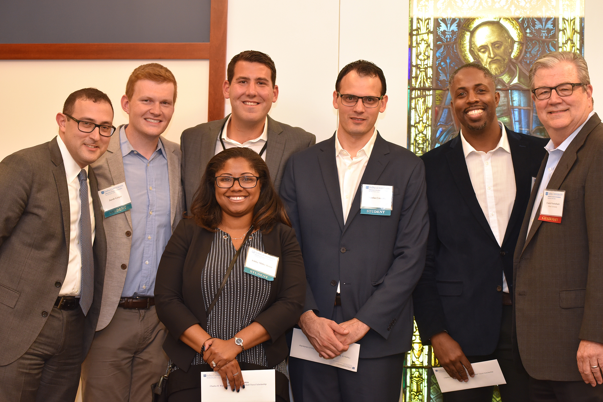 Student scholars recognized at Real Estate Center reception