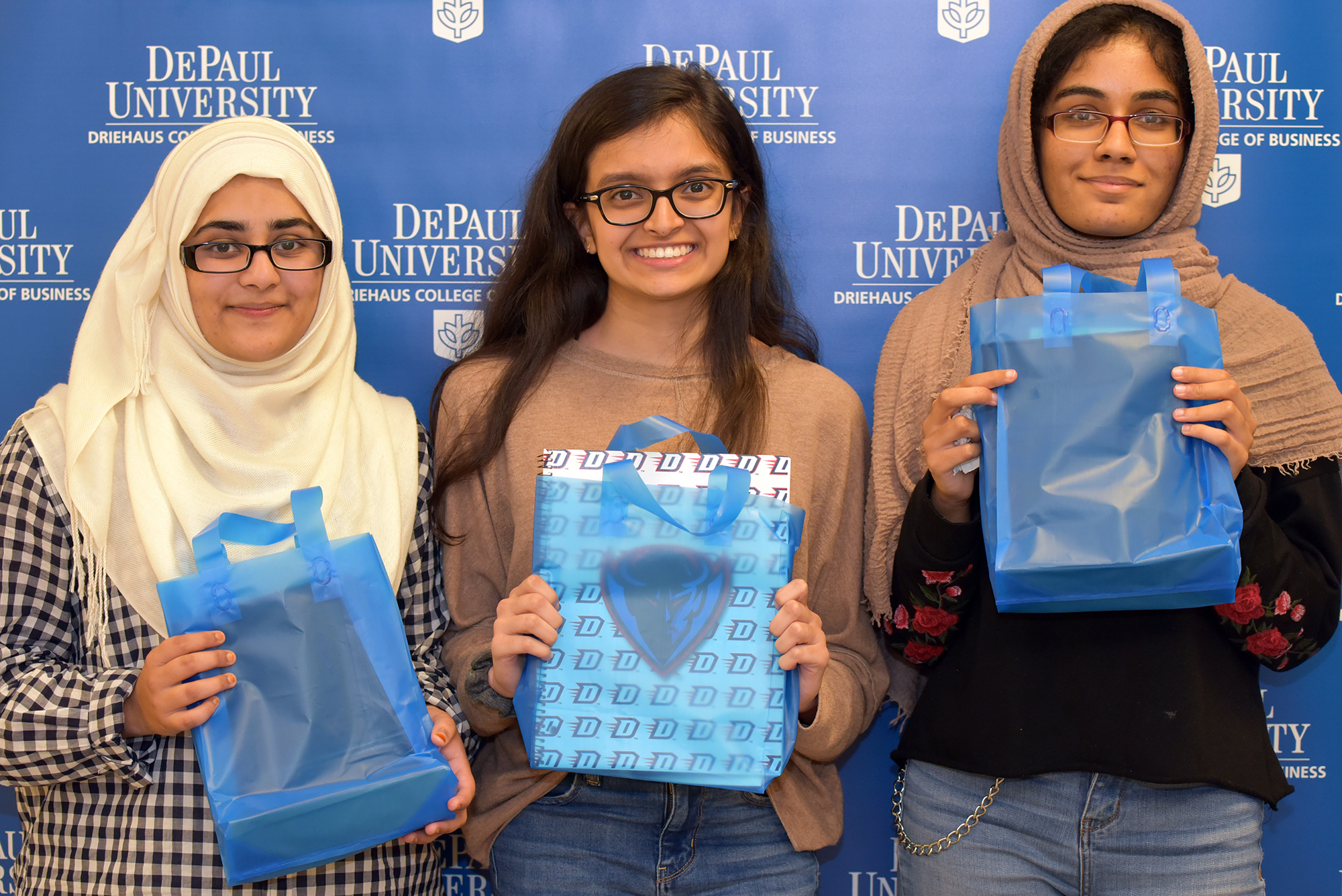 New Blue Demons celebrate at Driehaus New Student Reception